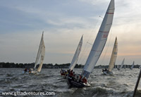 Photo gallery of Family Adventure: sailboat races in Annapolis, Maryland