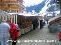 street vendors, meribel