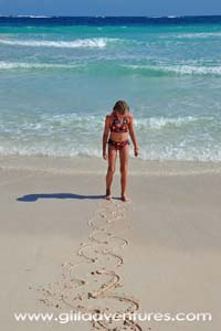 Family Adventure: Tulum Beach, Mexico