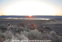 daybreak over the Alvord desert