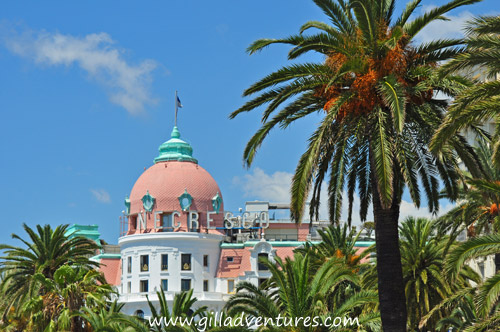 The Hotel Negresco, an icon of Nice.