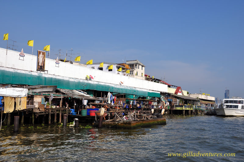 Bangkok, Thailand, and the Chao Phraya River