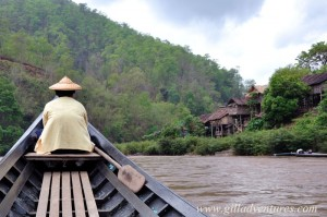 Karen village from the boat